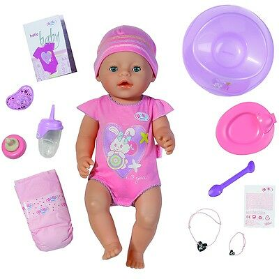 Baby Born Interactive Newborn Baby Girl Doll with Accessories