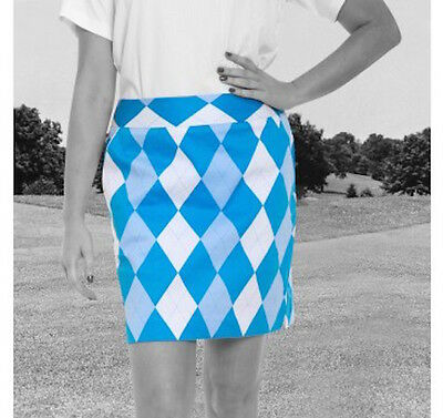 LADIES ROYAL & AWESOME SPORTS SKORT Golf / Tennis / Netball