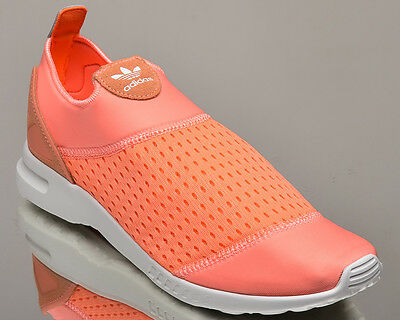 hot sale online 0ecb0 e1a0f adidas Originals WMNS ZX Flux ADV Smooth Slip On women lifestyle sneakers  S75740