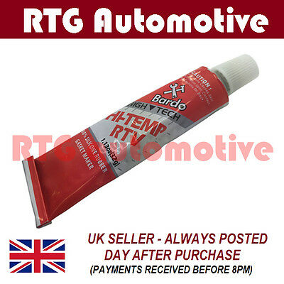 AUTOMOTIVE CLEAR HIGH TEMPERATURE SILICONE GASKET MAKER SEALANT TUBE 35g