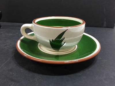 Stangl Thistle Cup And Saucer  (#1580)