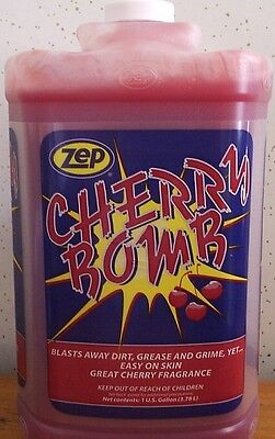 Zep Cherry Bomb Hand Cleaner 4 Gallon Case / With Hand Pump