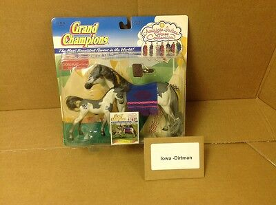 Rare Grand Champions American Indian Horse Collection 50047 Mare & Foal Praire
