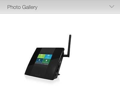 Amped Wireless TAP-R2 High Power Touch Screen AC750 Wi-Fi Router- R.R.P. $169.99