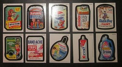 Wacky Packages ANS8 8th series 8 -  Magnet set of ten