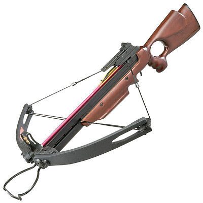 Striker II Compound Wooden Stock Crossbow - 150lbs Draw Weight