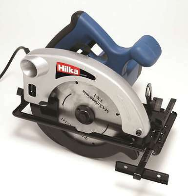 Hilka 1200w Circular Saw 185mm - 240v Power tool rip saw supplied with Blade