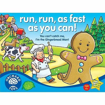 Orchard Toys 067 Run, Run, as Fast as You Can! Kids Childrens British Game 4Yr+