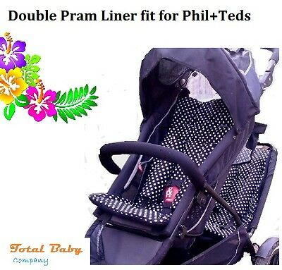 Double Pram Liners for Phil & Teds Buggy