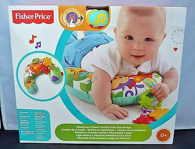 Fisher-Price Rainforest Spielkissen CDR52 für Feinmotorik Grobmotorik Sensorik