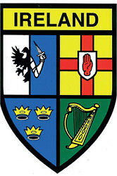 4 Province Ireland Sticker (Suitable for outdoors)