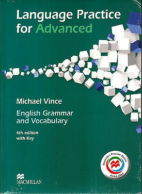 LANGUAGE PRACTICE FOR ADVANCED CAE w Key & Online Practice 4th Edition @NEW@