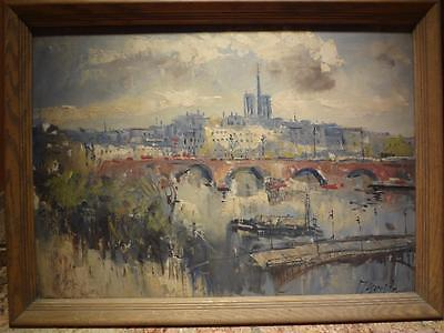 Dutch Oil on Canvas -  Early 20th C - Signed. Vintage piece