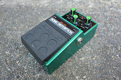 1980s Maxon SD-01 Sonic Distortion Distortion/Overdrive MIJ Japan Effects Pedal
