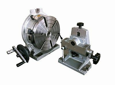 "10"" Precision Rotary Table Combo ( with Dividing Plate and Tailstock )"