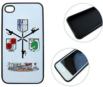 #PHO042 - Attack on Titan - Shingeki no K - Handyschale Cover Case - Iphone 5