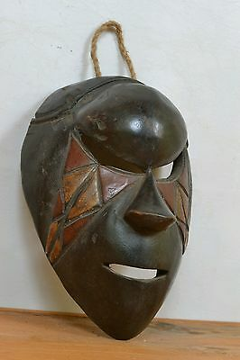 Mask from  salampasu tribal from DR Congo africa.
