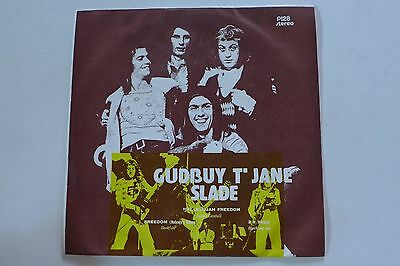 "Slade / Gudbuy't Jane (Thai 7"" Ep) Blackfoot Sue-Hookfoot...oop"