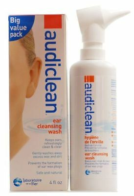 Audiclean Ear Cleansing Wash - 115ml