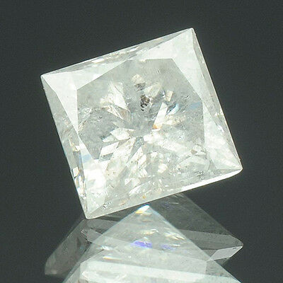 0.40 cts. Certified Princess Brilliant White-F Color Loose Natural Diamonds 7863
