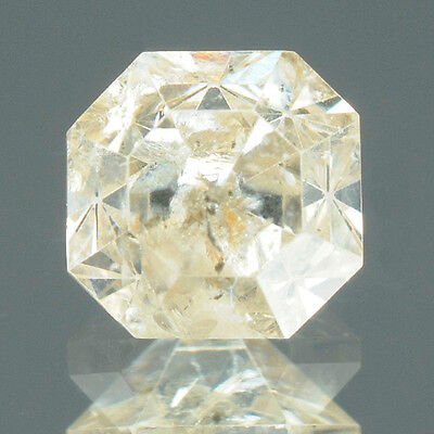 0.45 cts. Certified Antique Radiant Cut Brown Color Loose Natural Diamond 7866
