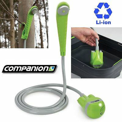 Companion Rechargable Cordless Portable Shower Water Camping Outdoor Comp0645