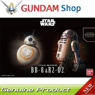 BANDAI Star Wars 1/12 BB-8 & R2-D2 No. 203220 JAPAN