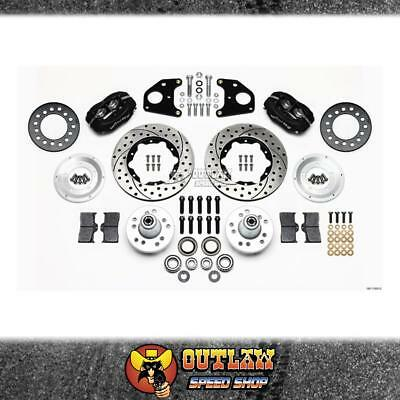 Wilwood Front Brake Kit Dodge And Plymouth B & E Series Vehicles - Wil14011020D
