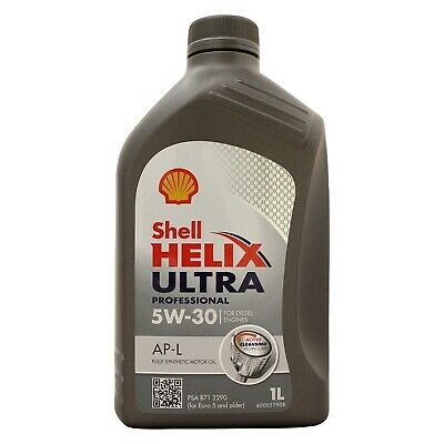 Shell Helix Ultra Professional AP-L 5w-30 Fully Synthetic Engine Oil - 1 Litres