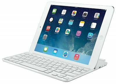 Logitech Ultrathin Magnetic Clip-On Keyboard Cover for iPad Air Silver (ESP Layo