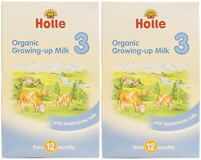 Holle Organic Growing Up Milk 3 - 600g (Pack of 2)