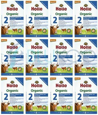 Holle Organic Infant Follow-On Formula 2 - 600g (Pack of 12)