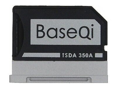 BASEQI 350A 100% Hidden Aluminum MicroSD Adapter for Microsoft Surface Book