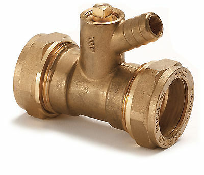 Compression Couplings with Drain Off - Flowflex Quality Fittings
