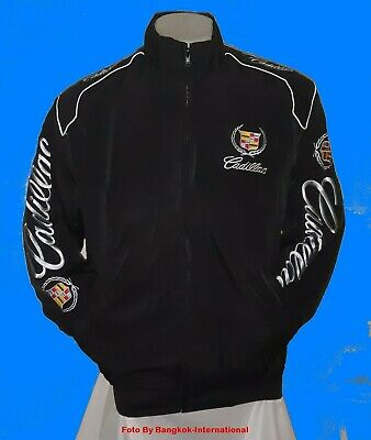 Jacket-Blouson-Jaquette.cadillac  Racing Team All Logo In Brodery