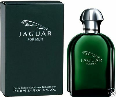 JAGUAR FOR MEN GREEN VERT EAU DE TOILETTE HOMME 100ml VAPO NEUF SOUS BLISTER