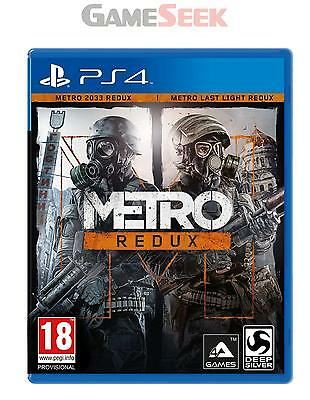 Metro Redux - Playstation Ps4 Brand New Free Delivery