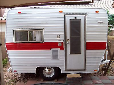 Vintage 13 ft Canned Ham Camper Trailer  PLANS Tear Drop RV Teardrop Camp #3