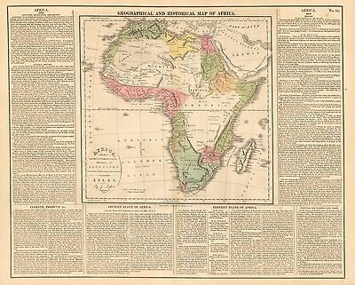 HJB-AntiqueMaps : 1821 Map of Africa by Aspin