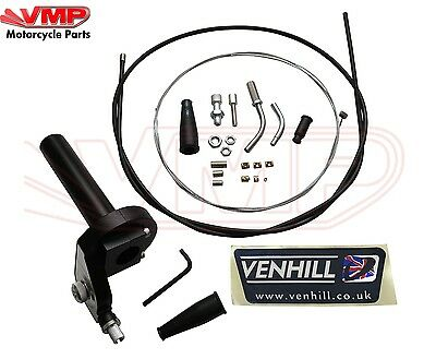 Venhill Universal 600a Quick Action Twist Grip and Single Cable Conversion Kit