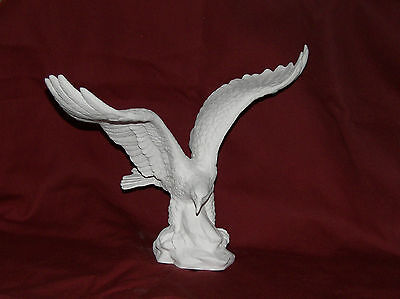 ~Indiana Ceramic Bisque Eagle IN Flight Ready to Paint~