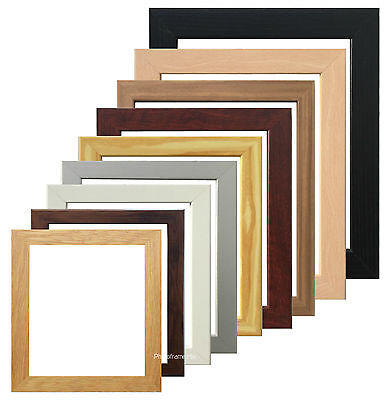 Square Picture Frame Photo Frame Poster Size Frame Black Oak Dark Oak White Pine