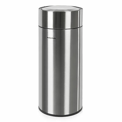 Morphy Richards Round Sensor Bin 30 Litre Stainless Steel 977110