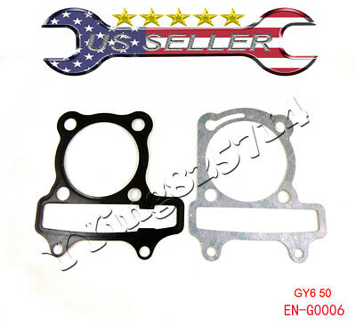 GY6 150 Head Gasket Set Engine Cylinder Chinese Scooter Moped ATV 150cc 57mm