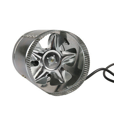 "VIVOSUN 4"" 6"" 8"" inch Inline Duct Booster Fan Ventilation Exhaust Air Blower"