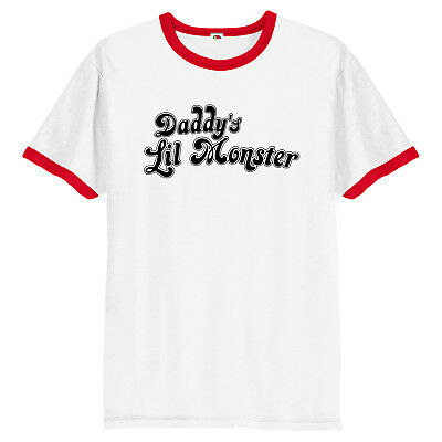 Suicide Squad T-Shirt  Daddy's Lil Monster Little Harley Quinn T-Shirt  Inspired