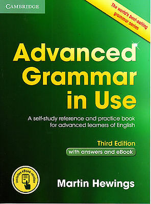 Cambridge ADVANCED GRAMMAR IN USE w Answers & Online THIRD Edition R Murphy NEW
