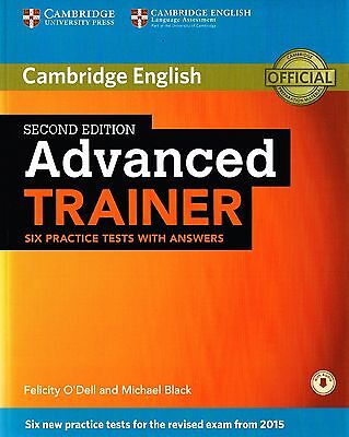 Cambridge ADVANCED TRAINER CAE Six Practice Tests with Answers 2ND ED 2015 @New@