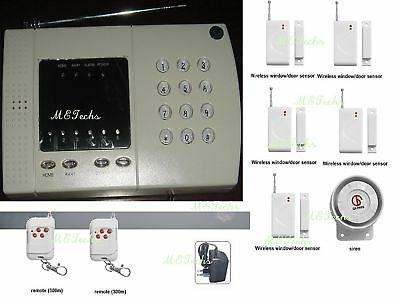 New Wireless Home Security Alarm System No Monthly Fee