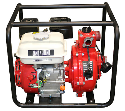 6.5HP Water Fire Fighting Fighter Pump High Pressure Petrol Transfer Irrigation